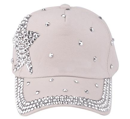 Hvid pige cap