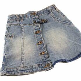 Jeans nederdel pige