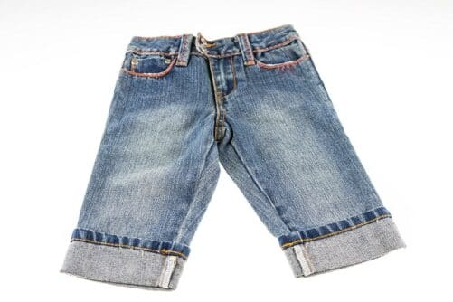 Jeans Knickers pige