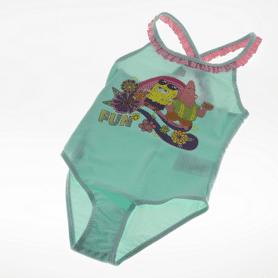 Grøn pige bikini