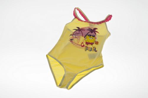 Gul pige bikini