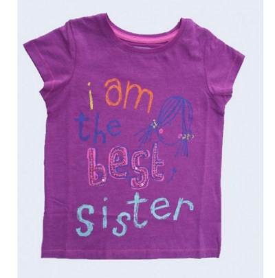I am the best sister t-shirt