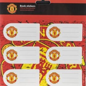 Manchester United bog stickers