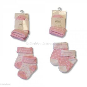 Pink strømper baby pige