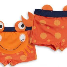 Orange Badebuks baby