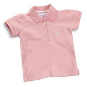 Pink polo t-shirt dreng