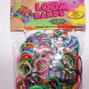 Loom Bands blandet farver