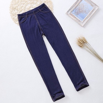 Leggings jeans til pige