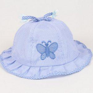 blå baby sommerhat - Baby Solhat