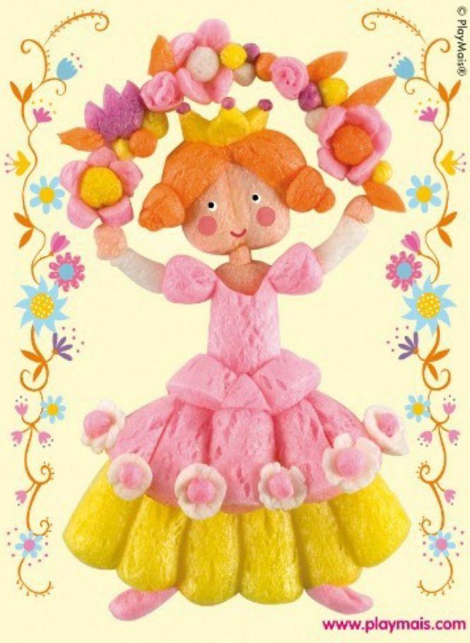 Playmais princesse pink