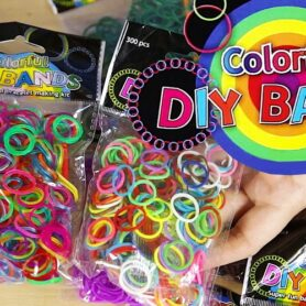 DIY Rainbow looms - Loom bands