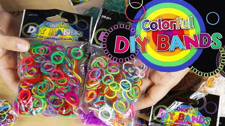 DIY Rainbow looms - Loom bands