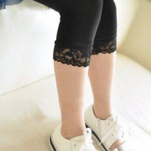 korte sorte leggins pige