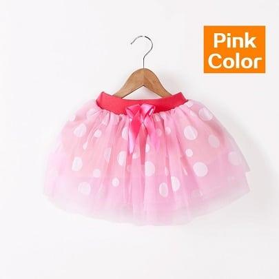 pink tyl nederdel - tylskørt