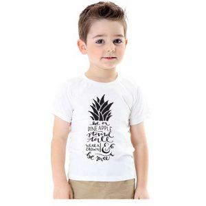 hvid t-shirt dreng