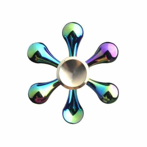 Fidget Spinner Rainbow - 6 arme