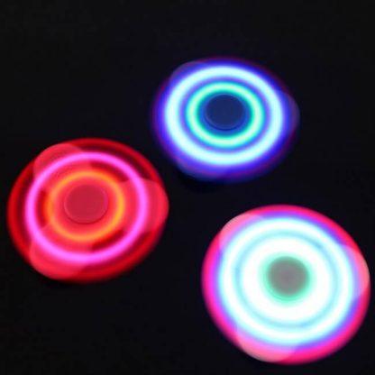 Fidget Spinner med lyd og lys