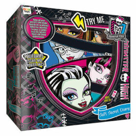 Monster High Secret Diary with pillow and key