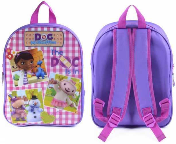 Disney_Doc_McStuffins_ junior Skoletaske - rygsæk