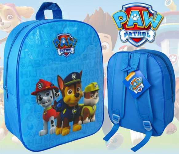 Drenge skoletaske - rygsæk med paw patrol