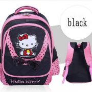 Hello Kitty Skoletaske - sort