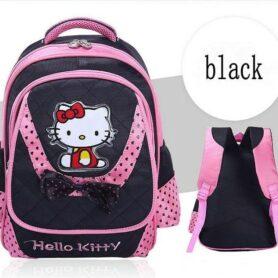 Hello Kitty Skoletaske - sort