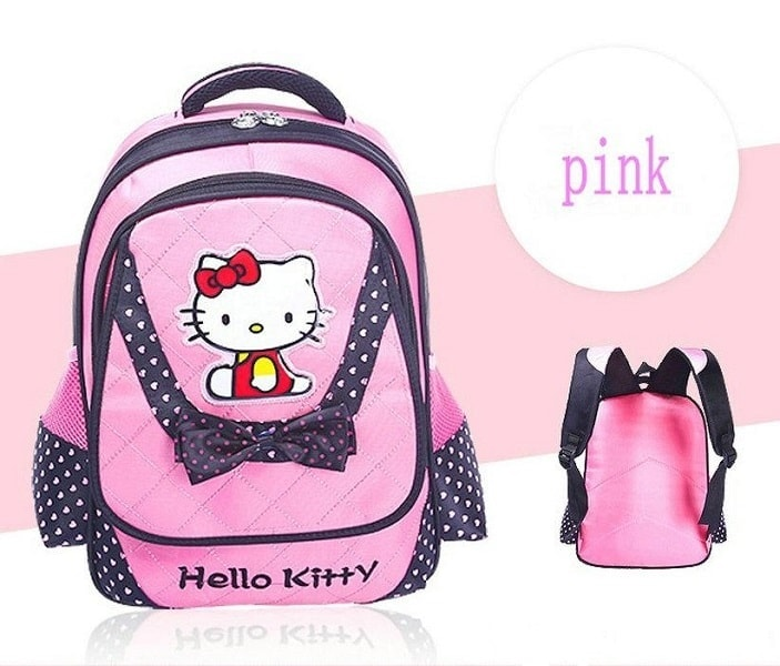 Hello Kitty Skoletaske - Pink