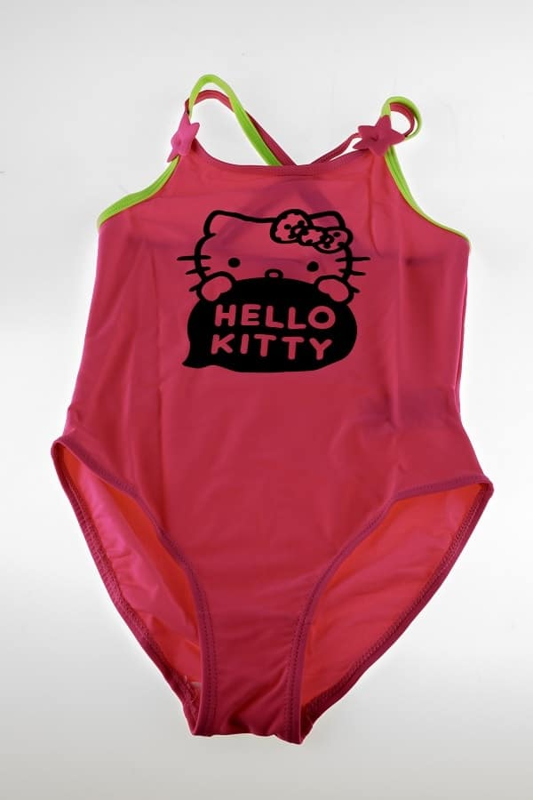 Hello Kitty Badedragt pige - Pink