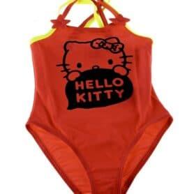 Hello Kitty badedragt pige - rød