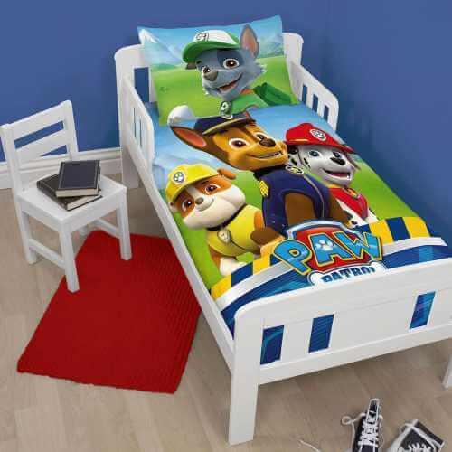 Paw Patrol junior sengetøj sæt
