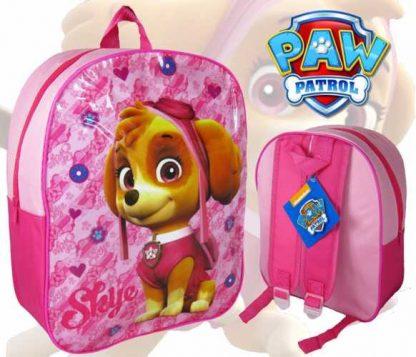 Pige skoletaske - rygsæk med paw patrol