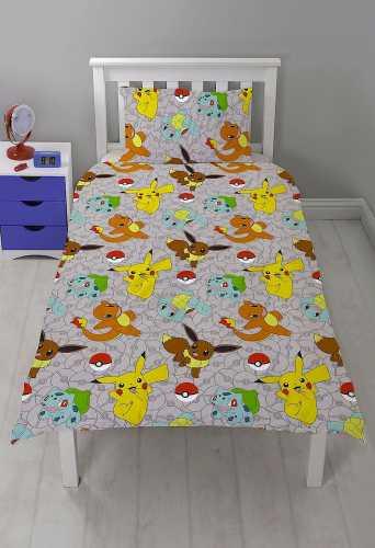 Pokemon sengetøjssæt - Dynebetræk pokemon