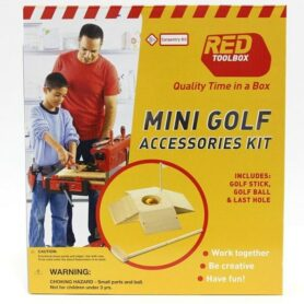 Red Toolbox - Mini Golf Kit
