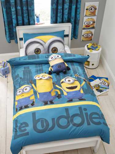 Minions sengetøjssæt - sengetøj minions