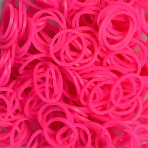 Loom Bands Pink