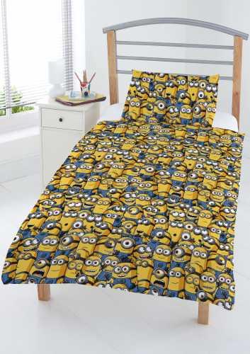 Minions junior sengetøjssæt - sengetøj junior