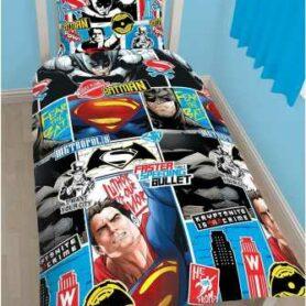 Superman vs. Batman sengetøj - sengetøjssæt