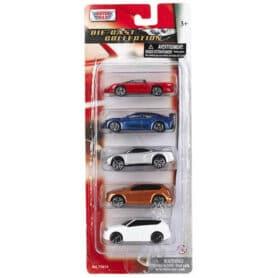 5-pak legetøjsbiler