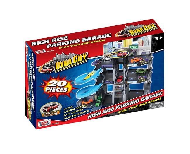 Dyna City High Garage Parking set