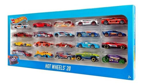 Hot Wheels Gaveæske - 20 Biler