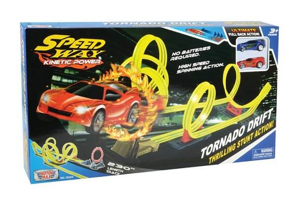 Hot Wheels Tornado Drift - Speed Way - Racerbane 1