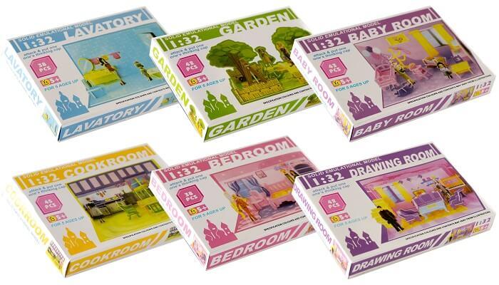 Kreativt legetøj pige - pakkekalender idé