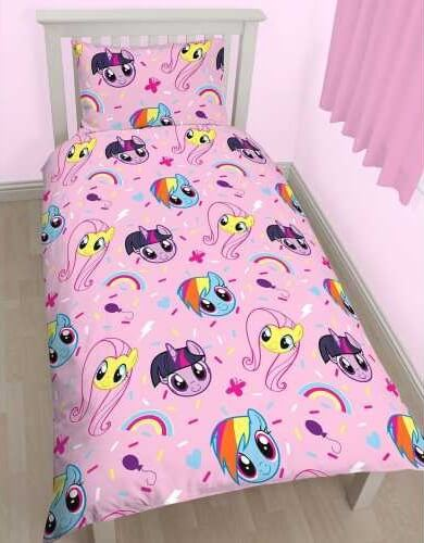 My Little Pony sengetøj - vendbart