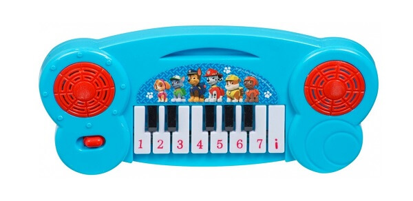Paw Patrol Keyboard - piano - blå