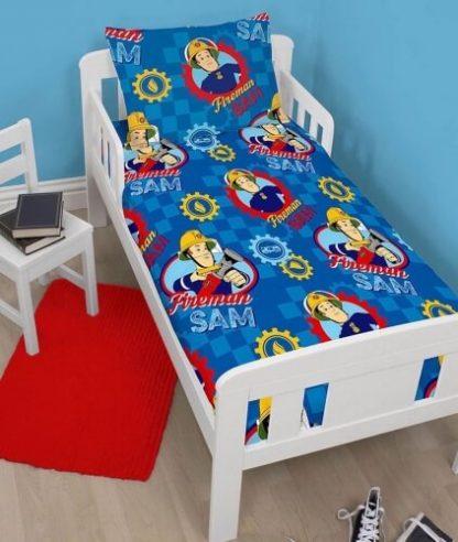 Brandmand Sam junior sengetøj