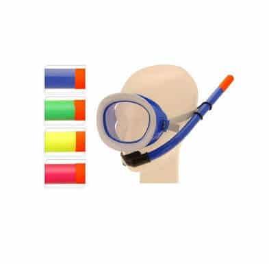 Dykkermaske og snorkel til børn - snorkelsæt til børn