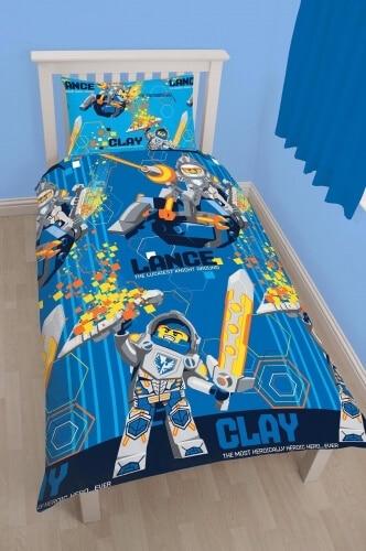 Lego sengetøj - Lego Nexo Knights