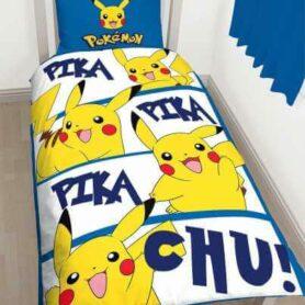 Pokemon sengetøj - pikachue