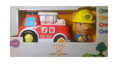 Biler til børn - Brandbil - bil til baby