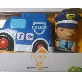Biler til baby - politibil til børn